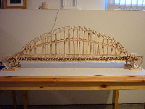 17 Best Images About Toothpick Bridges On Pinterest