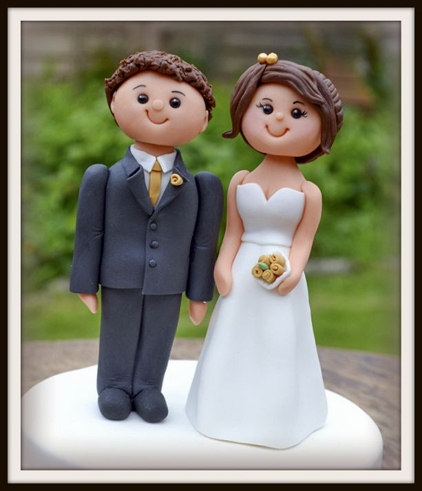 Bride and Groom Topper - SugarEd Productions Online Classes