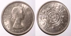 Two Shillings, Florin or '2 bob bit'