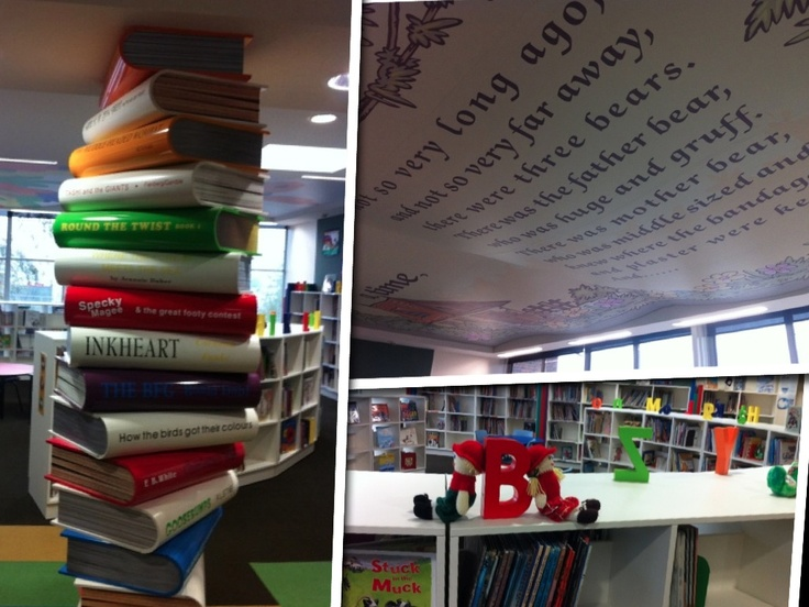 16 best Library ideas images on Pinterest Library ideas School