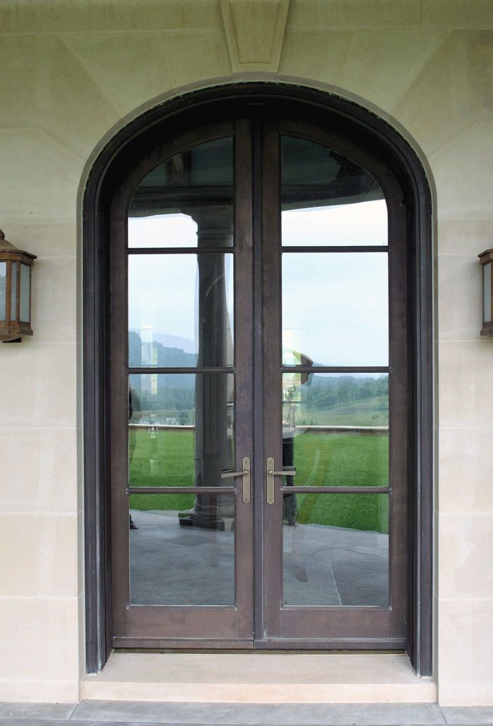 Fantastic Exterior Doors French Doors Custom Bronze Clad Wood French Doors True Divided