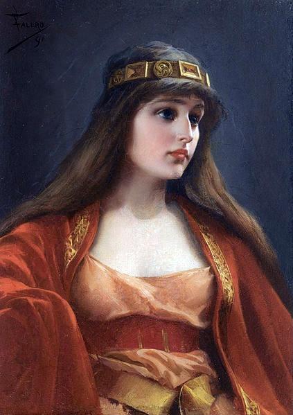 Luis Ricardo Falero, Bedouin Girl, 1891