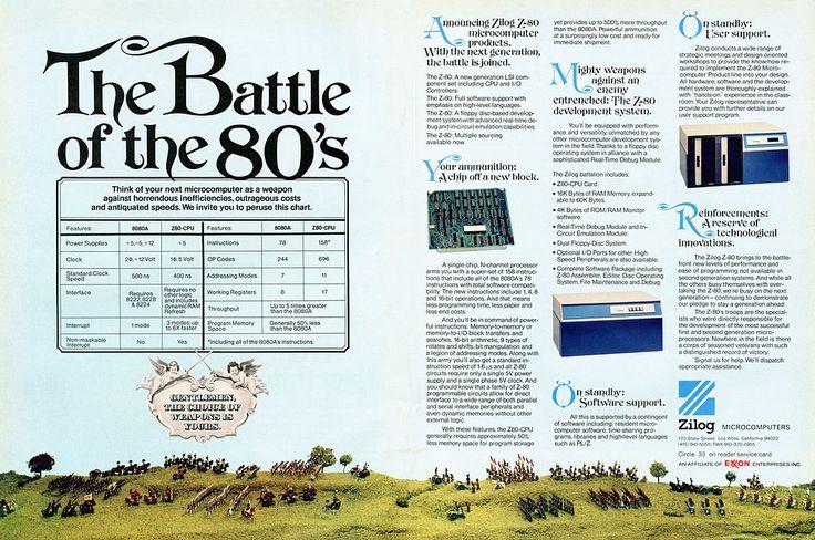 Zilog Z-80 Microprocessor ad May 1976 - Zilog Z80 - Wikipedia