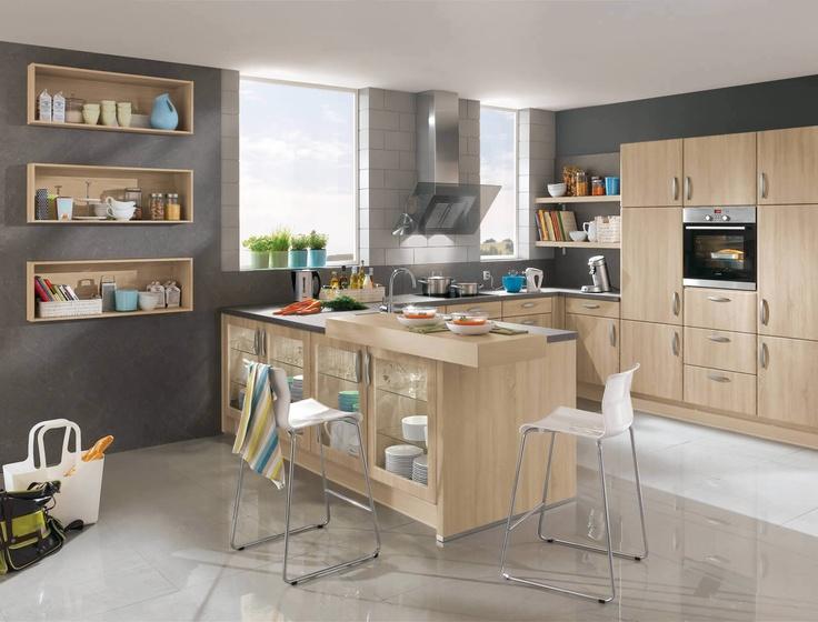 10 best Küche images on Pinterest Kitchen ideas, Home ideas and - design küchen günstig