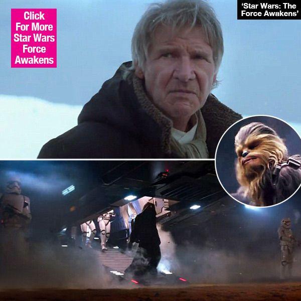 'Star Wars: The Force Awakens': New Trailer Focuses On Kylo Ren & Han Solo —Video