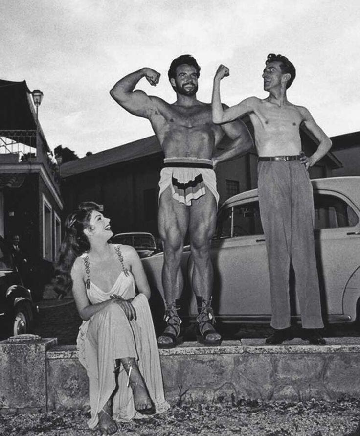 Sylva Koscina and Steve Reeves   Rare, weird & awesome celebrity photos