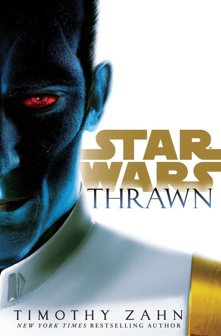 "Thrawn is a novel written by Timothy Zahn. The novel is about the character Thrawn, who was canonically reintroduced in the third season of Star Wars Rebels. Zahn was the creator of the original character in the author's Thrawn Trilogy. The novel was released on April 11, 2017. ""I study the art of war. Work to perfect it."" —Grand Admiral Thrawn"