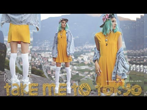 TAKE ME TO TOKYO || LOOKBOOK by VINTAGEENA - YouTube