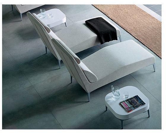MI LONGUE Es un mueble para contemplar y descansar. Ideal para áreas de reflexión y oficinas gerenciales. Cuenta con un original sistema de reposacabezas ajustable operado con imanes.