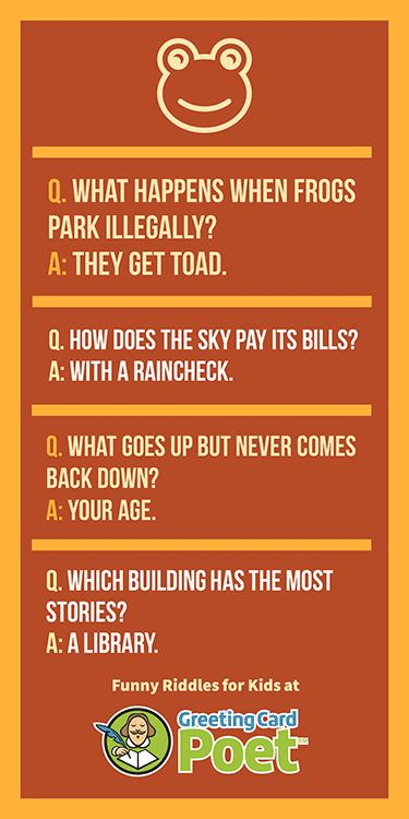 101 Funny Riddles For Kids To Keep Everyone Guessing ...