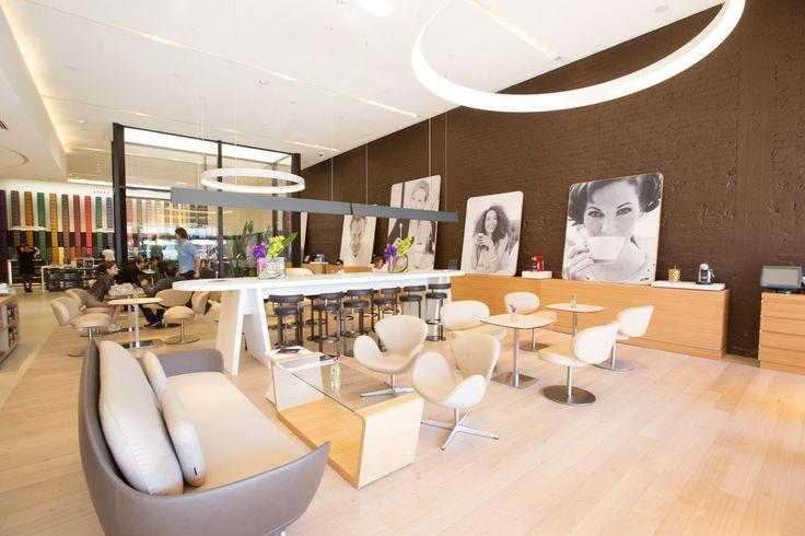 Nespresso, a Scrupulously Clean Coffeteria in Beverly Hills