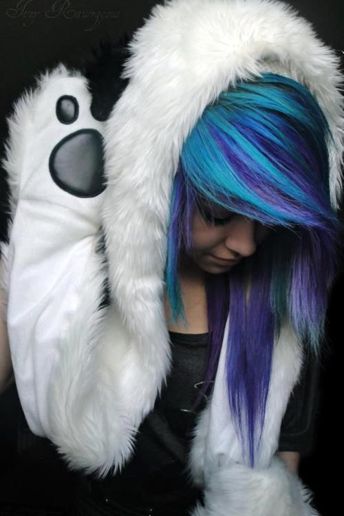 blue and purple hair | Tumblr