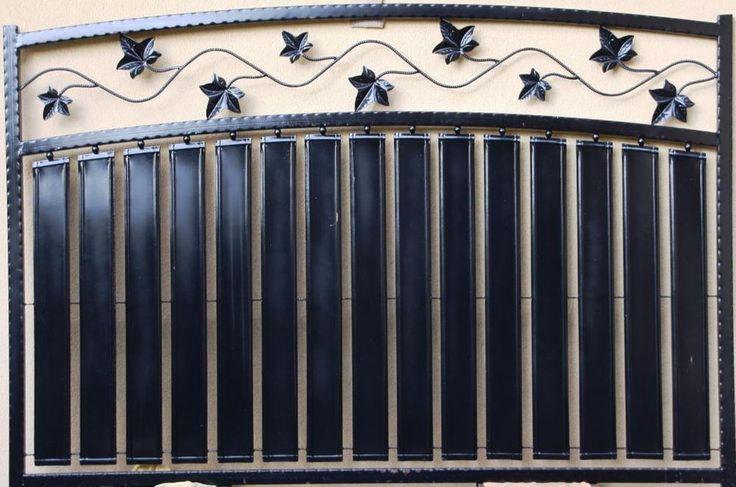 Recinzione in Ferro Battuto Iron Fence Clôture en fer forgé Zäune Valla