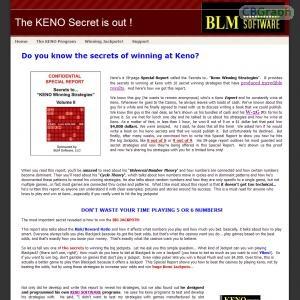 Keno forms