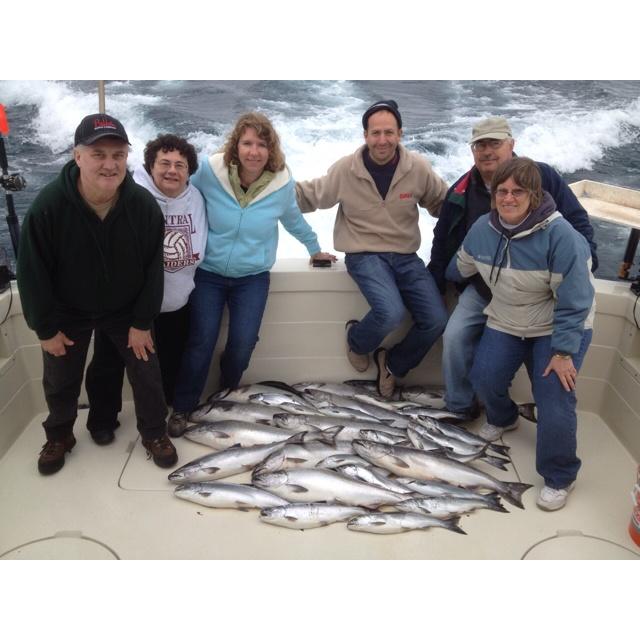 Winthrop Harbor, IL with Kinn's Sport Fishing. 5/12/12: Winthrop Harbor, Kinn S Sport