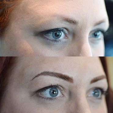 Cosmetic tattoo by shaugnessy keely vancouver art for Eyebrow tattoo artist