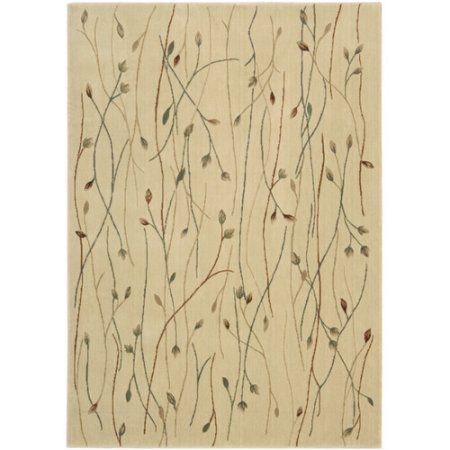 Nourison Cambridge Collection CG04 Transitional Area Rug, Beige