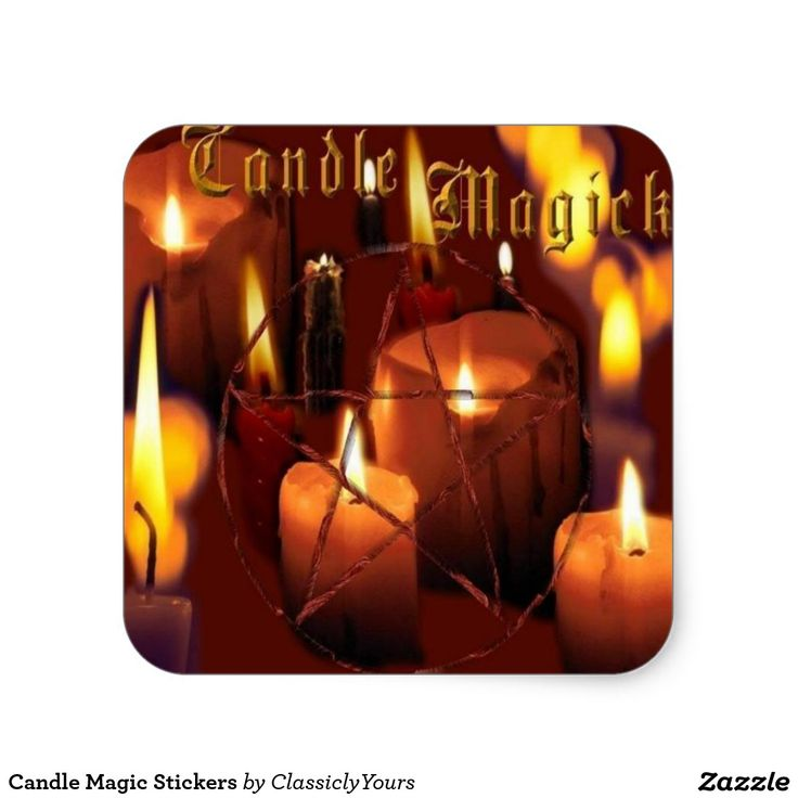 Candle Magic Stickers