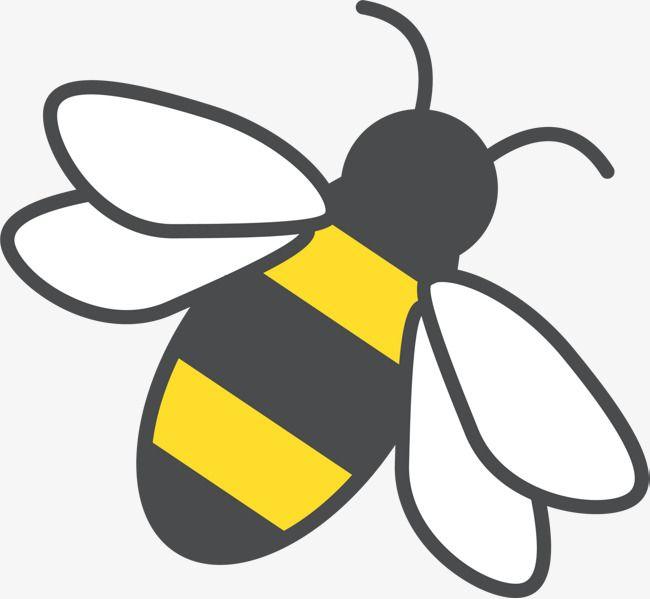 Yellow Bee Clip Art