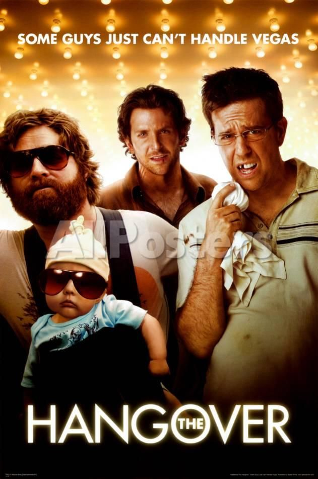 The Hangover People Poster - 61 x 91 cm