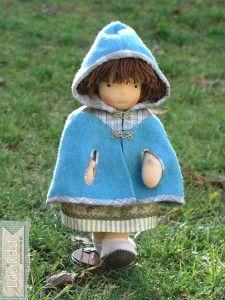 Lalinda muñeca de trapo