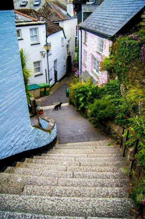 Fowey, Cornwall - England