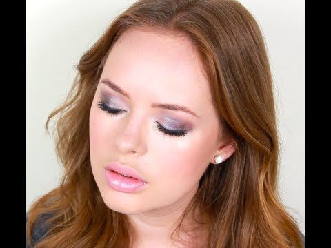 Prom Makeup Tutorial. Can be used for any event. Love the purples and greys used.