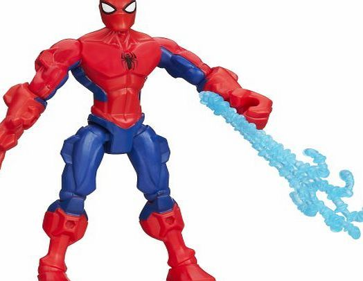 Spider-Man Marvel Hero Mashers Spider-Man Action Figure Make your own hero mash up with this customizable Spider Man figure He looks just like the web slinging superhero But Spider Man would be even more powerful if he had a C (Barcode EAN = 0796657615680) http://www.comparestoreprices.co.uk/december-2016-week-1-b/spider-man-marvel-hero-mashers-spider-man-action-figure.asp