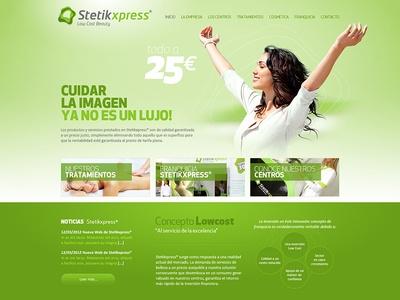 StetikXpress Website