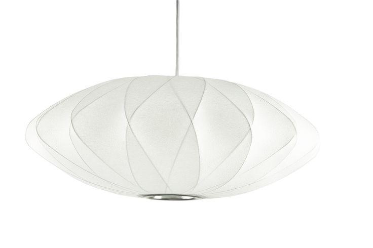 Bubble lamp Saucer CC av George Nelson