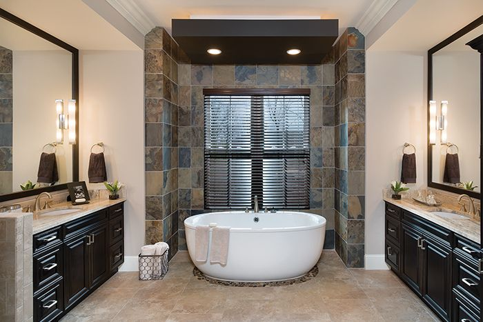 Great bathroom in a luxury home model http for Bath remodel asheville nc