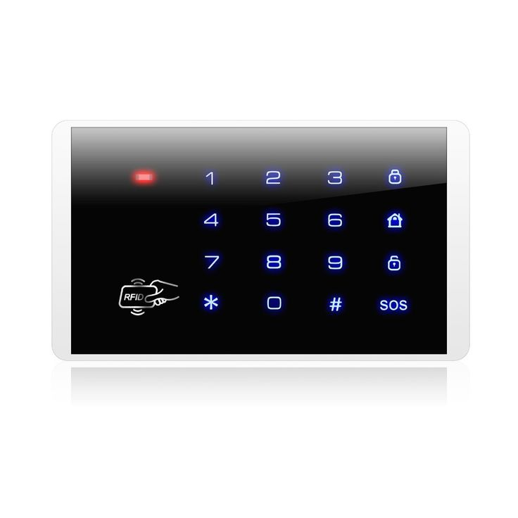 New&Hot!!KERUI K16 RFID Touch Keypad For Wireless PSTN GSM Alarm Systems Burglar Access Control System Wireless Password Keypad