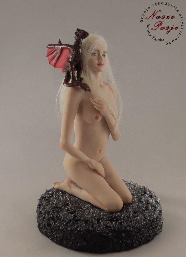 Khaleesi Art Doll OOAK by Joanna Żarska