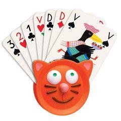 Djeco kortholder til spillekort - ekstra hjælp til de små hænder