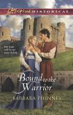 My latest book is Bound to the Warrior (Love Inspired Historical Series)