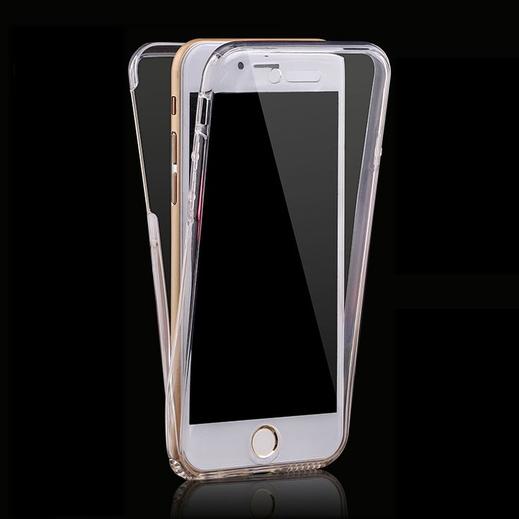 Find More Phone Bags & Cases Information about 360 degree protection case for iPhone 7 plus Silicone Flexible Soft Body with clear transparent thin TPU cover back cover,High Quality case netbook,China case access Suppliers, Cheap case for blackberry pearl from javq Phone Cases Store on Aliexpress.com