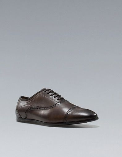 RICHELIEU URBAIN - Chaussures - Homme - ZARA France