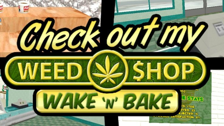 Cool new weed shop app