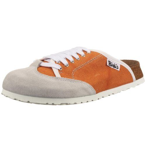 Birkis clogs Sporty in size 36.0 N EU made of Suede/Textile in Orange with a narrow insole Birki's. $67.39. Suede/Textile