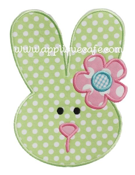 Bunny 6 Applique Design
