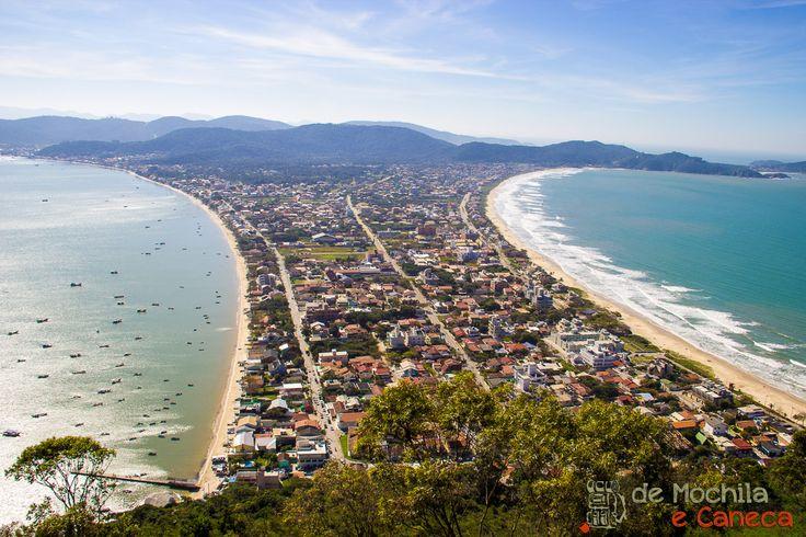 Praia do Canto Grande e Praia do Mariscal - Morro do Macaco