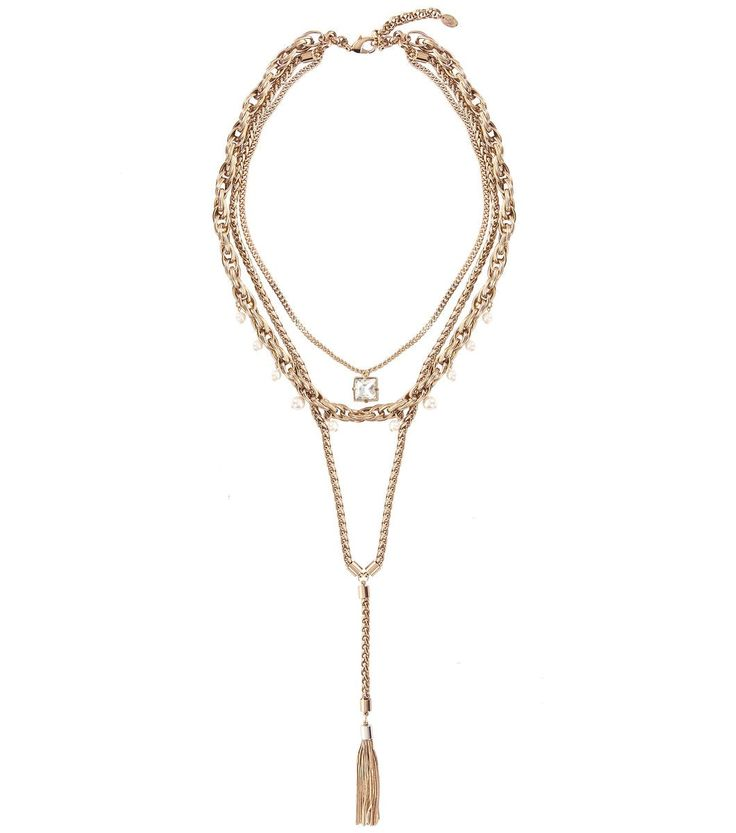 Alannah Hill - Dripping In Gold Necklace http://shop.alannahhill.com.au/new-arrivals/i-am-woman/dripping-in-gold-necklace.html