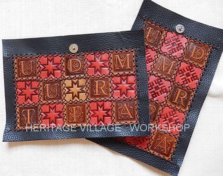 Udmurtia . Details for making leather case . Удмуртия . Детали для изготовления кожаного футляра . #удмуртия , #ижевск , #udmurtia , #handmade , #leathercraft , #ремесла , #сувениры