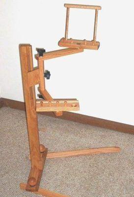 Wood Swivel Office Chair