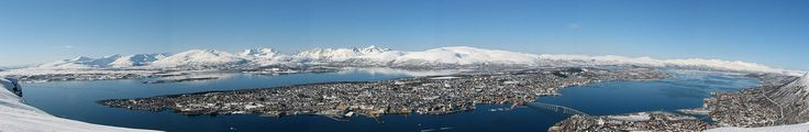 Tromsø, Norway - one of the best places in the world to observe the Aurora Borealis (Northern Lights) with Music festival in the summer