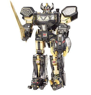 "MIB Power Rangers Limited Black Edition Legacy Megazord Toys ""R"" Us Exclusive"