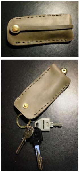 真皮鑰匙包