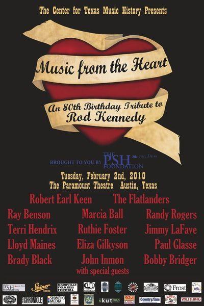 Kerrville Folk Festival Founder Rod Kennedy Dies | 4/14/2014 | via @Austin Chronicle