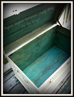 Recycled, Upcycled, Repurposed ...: Vintage Trunk