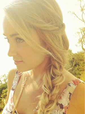 Lauren Conrad: master of the messy braid